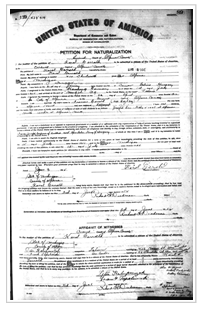naturalization record